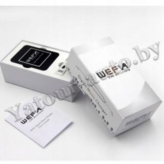 Wefa WF-606 VW12 MP3 USB Bluetooth адаптер для SKODA 12pin