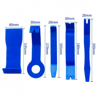 Набор съемников для демонтажа облицовочных панелей (5 предметов)
