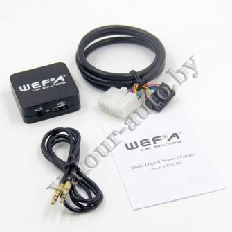 MP3 USB AUX адаптер Wefa WF-605 для LEXUS 5+7 - читает FLAC!!!