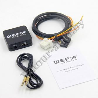 MP3 USB AUX адаптер Wefa WF-605 для NISSAN - читает FLAC!!!