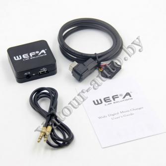 MP3 USB AUX адаптер Wefa WF-605 для SUZUKI - читает FLAC!!!