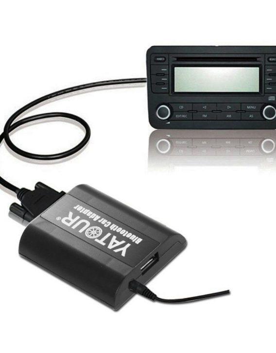 Адаптер Bluetooth AUX Yatour YT-BTA VW12 для SKODA (Bluetooth / AUX)