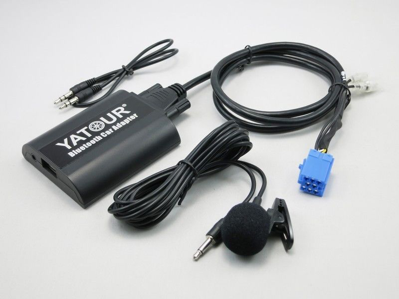 Адаптер Bluetooth AUX Yatour YT-BTA REN8 для RENAULT (Bluetooth / AUX)