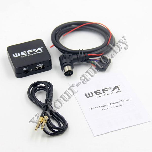 MP3 USB AUX адаптер Wefa WF-605 для Volvo HU - читает FLAC!!!